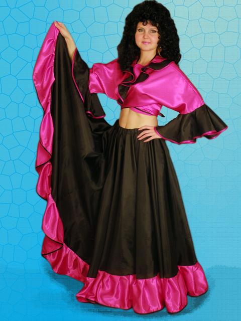 Цыганская юбка пошив своими руками