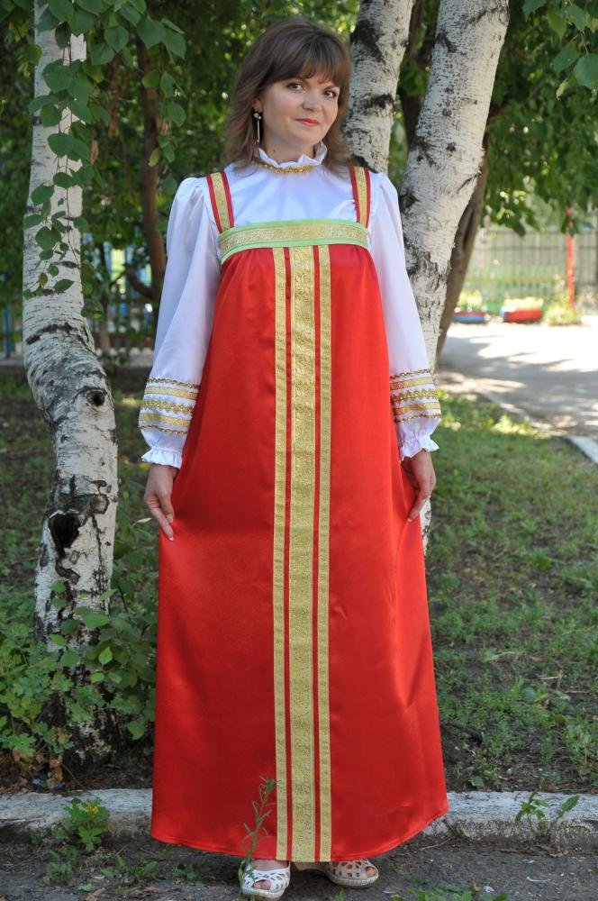 русский сарафан фото и картинки