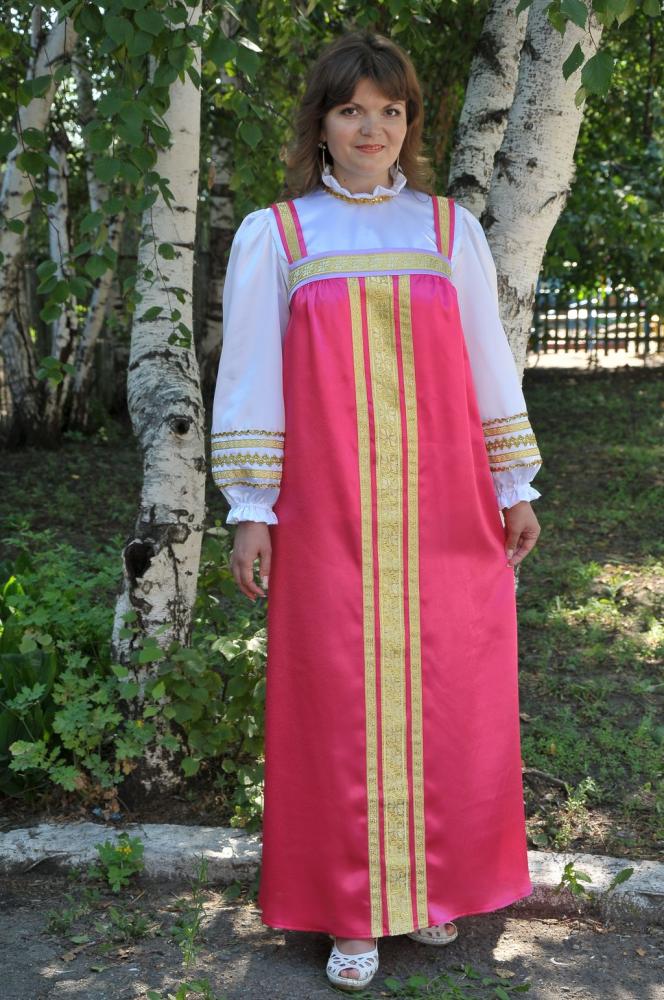 Ня картинки - сарафан русский - Няшки